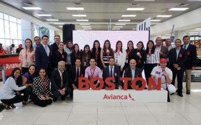 Avianca inaugura nueva ruta a Boston, Estados Unidos